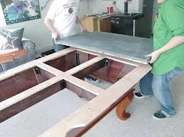 Pool table moves in Rochester New York