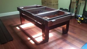 Correctly performing pool table installations, Rochester New York